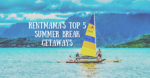 Tropical summer break getaways