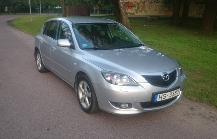 Rent A Mazda 3 2006 From 14 00 Eur Riga Latvia