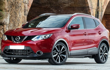 Rent A Nissan Qashqai 2017 From 41 00 Eur